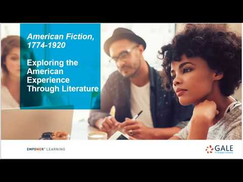 ACRL/Choice Webinars: American Fiction—Exploring the American Experience Through Literature