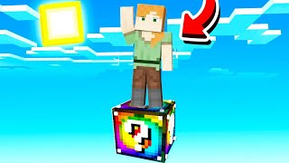 Minecraft But You Only Get ONE LUCKY BLOCK!