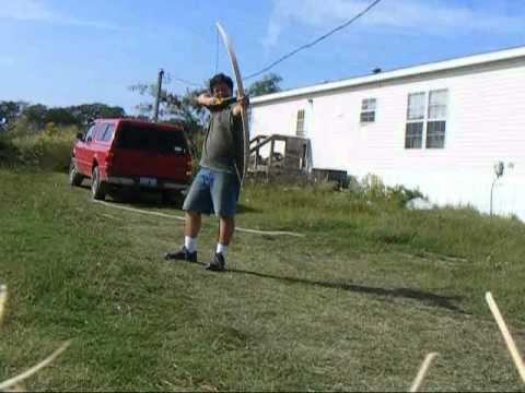 Siegework Archery Hickory longbow