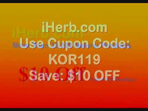 iHerb Coupon Code KOR119 - $10 Off Your First Purchase FREE INTERNATIONAL SHIPPING!