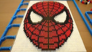 Spider man In 10000 Dominoes