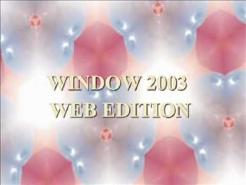 WINDOW 2003 WEB EDITION SERIAL KEY