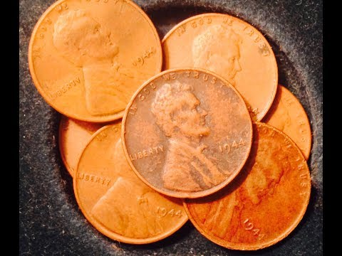 Searching Through 1944 Wheat Back Pennies for Steel Penny Worth $100,000