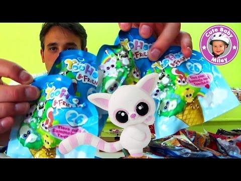 YooHoo & Friends Figuren Tiere Blindbags unboxing - Kinderkanal
