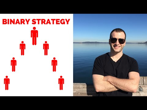 Binary Compensation Plan Building Strategy | Network Marketing Training