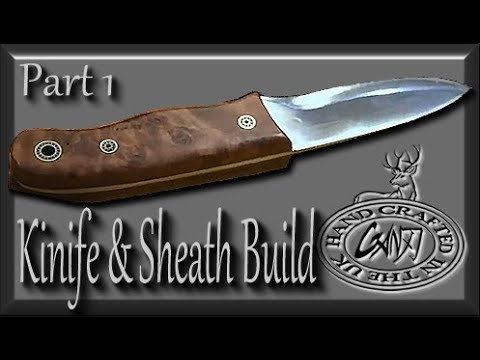 HOW TO MAKE A WOODLORE BUSHCRAFT KNIFE