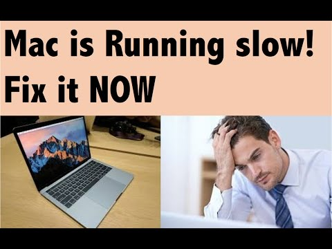 Why my mac is running slow