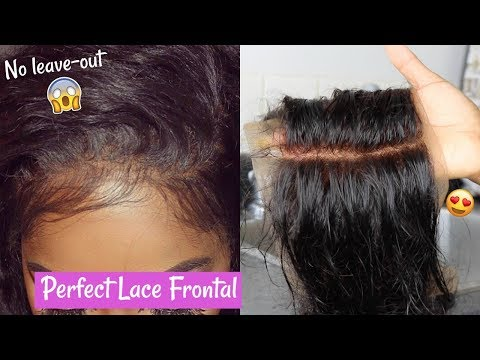 HOW TO: PEREFCTLY BLEACH KNOTS ON LACE FRONTAL   Amazon Yiroo Hair