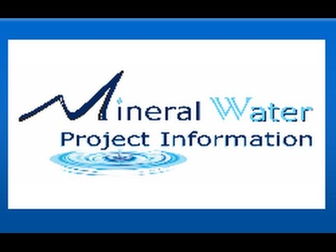 Are you starting Mineral Water Plant