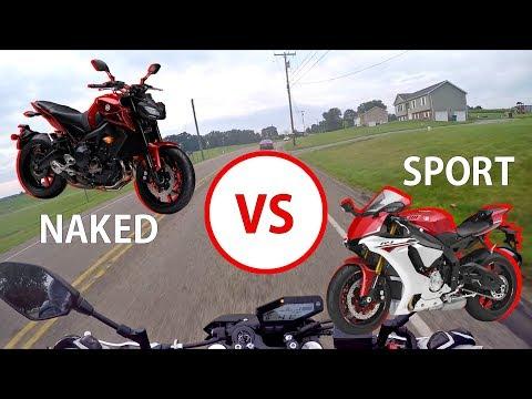 Naked Bike Vs Sport Bike - Which Should You BUY?