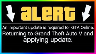 GTA ONLINE REQUIRES A MYSTERY UPDATE BUT NO ONE KNOWS WHY, NEW GTA 5 DLC COMING VERY SOON & MORE!
