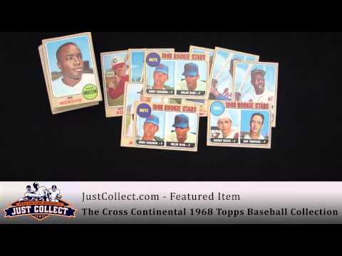 The Cross Continental 1968 Topps Baseball Collection