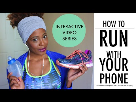 Running With Your Phone? Try This! | Fitness