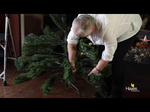 How to dress out your artificial Christmas Tree