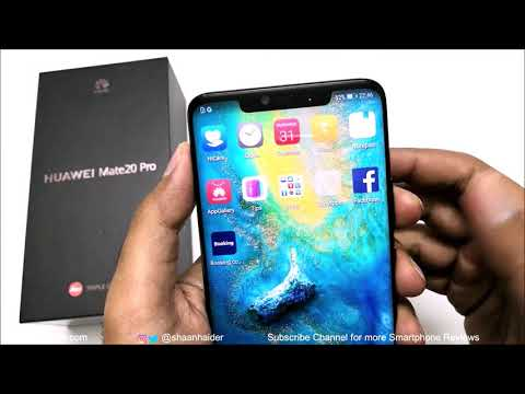 Huawei Mate 20 Pro - Unboxing and First Impressions