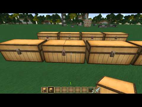 Minecraft Quickie Ep 1 - Double Chests