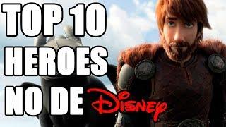 Download Top 10 Heroes NO animados por Disney Video