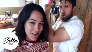 Christmas Morning with Daniel Bryan & Brie Bella! - Part 1
