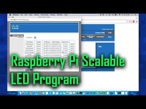 Raspberry Pi Scalable LED Program