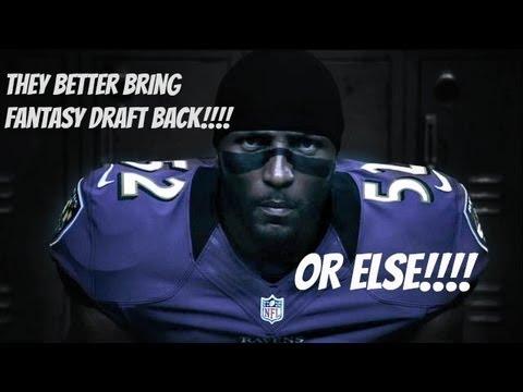 Madden NFL 13 FANTASY DRAFT is back!!!
