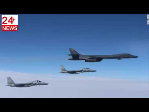 Chinese officials warned US B 1 bomber