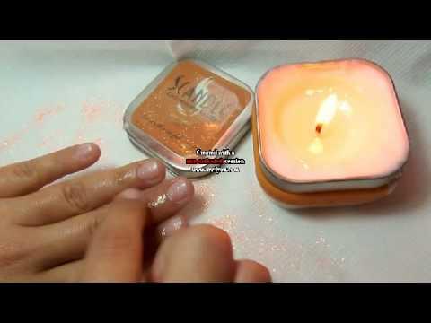 scandle, body massage candle, profumazione :love spell