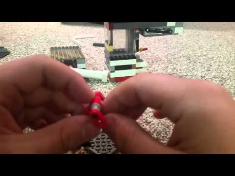LEGO Tips: Vacuum Engine Edition: Piston, Flywheel and Engine Block