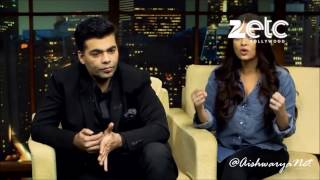 Aishwarya Rai Bachchan & Karan Johar Interview with Komal Nahta • Part 2