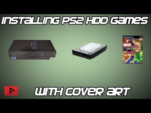[How To] Install Fat PS2 HDD Games With Cover Art Tutorial (2017)