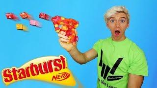 STARBURST CANDY NERF GUN - YOU CAN EAT IT!