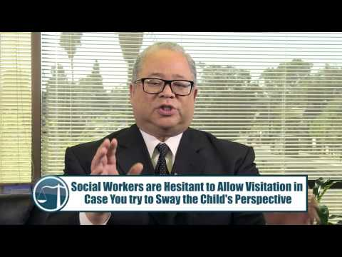 How To Visit Your Child with Social Services Before Your First Hearing - CA Lawyer Vincent W. Davis