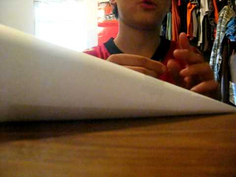 how to make a paper blowgun that shoots darts