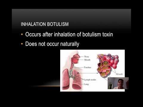 Botulism Presentation