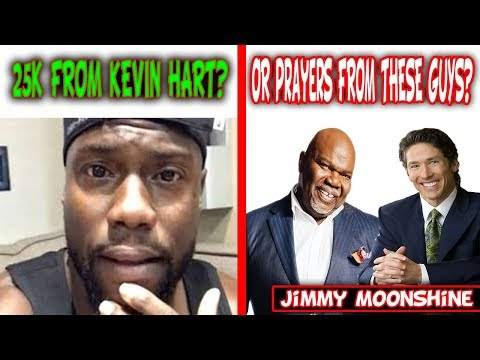 Kevin Hart Challenges Celebrities To Give 25K To Hurricane Victims Meanwhile Joel Osteen Shuts Doors