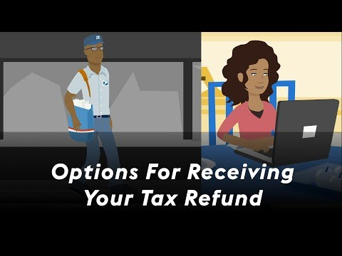 Options For Receiving Your Tax Refund | RushCard