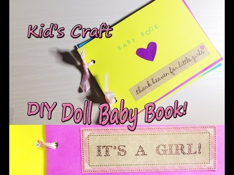 DIY Baby Book For Your Silicone or Reborn Doll!