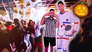 Behind the Scenes of Devin Booker's HALLOWEEN PARTY!