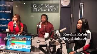 Dj Kayslay & Gucci Mane Interview Shade45 9/21/16