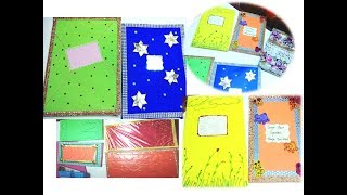 How To Decorate Project Files Registers Notebooks Cover Page