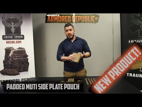 AR500 Armor® Padded Multi Side Plate Pouch