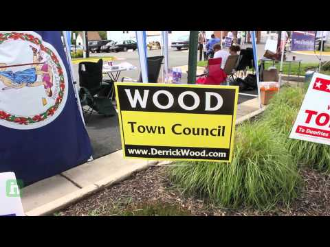 Dumfries, Virginia town elections 2012