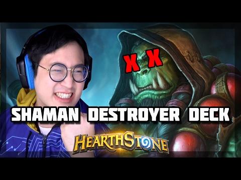Hearthstone - Shaman Destroyer Deck