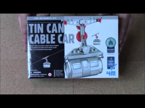 Awesome Tin Can Cable Car Build