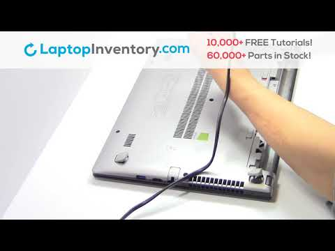 Lenovo IdeaPad S415 Hard Drive Replacement Guide - Disassembly Take Apart  S300 S400 U300 U400
