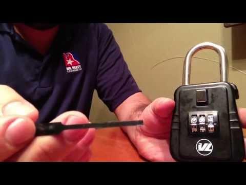 how to VL key box lock box hack rekeytraining