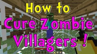 Minecraft Quick Tips How To Cure Zombie Villagers