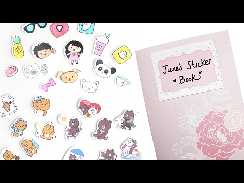 DIY Stickers & Sticker Book