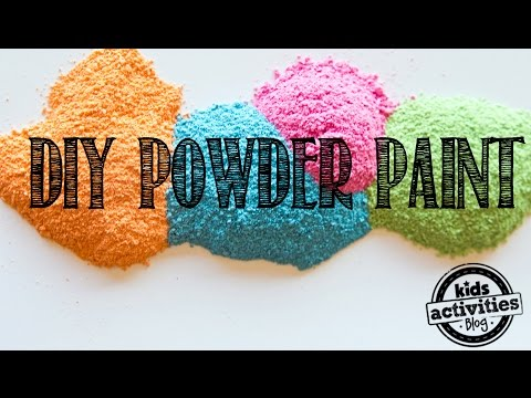 How To Make Powder Paint