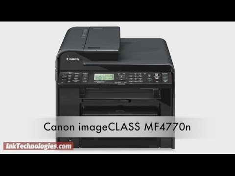 Canon imageCLASS MF4770n Instructional Video