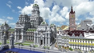 ASMR - Imperial City Tour (my Minecraft project)